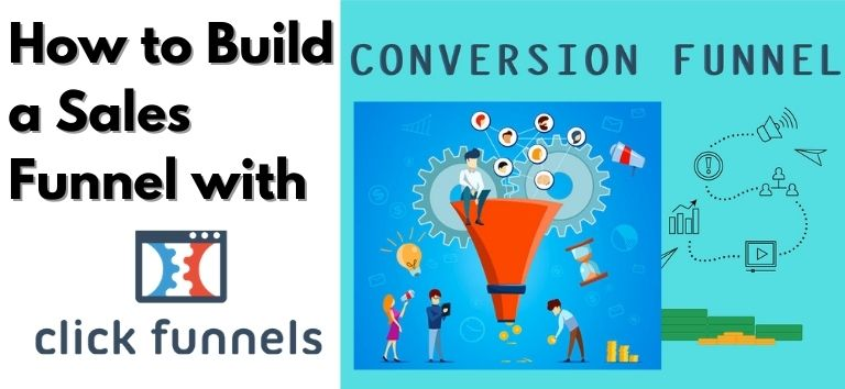 how to build a sales funnel with clickfunnels
