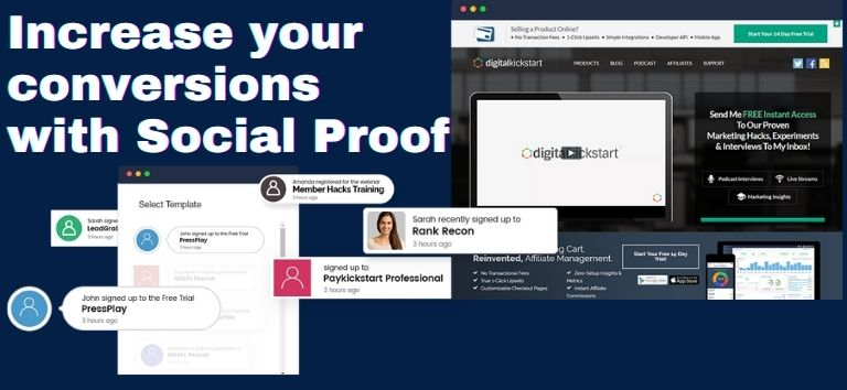 Social Proof in marketing