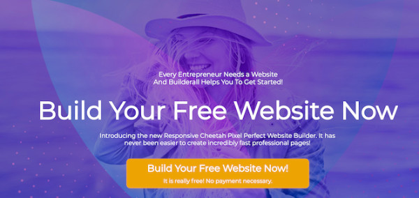 build your free website with builderall