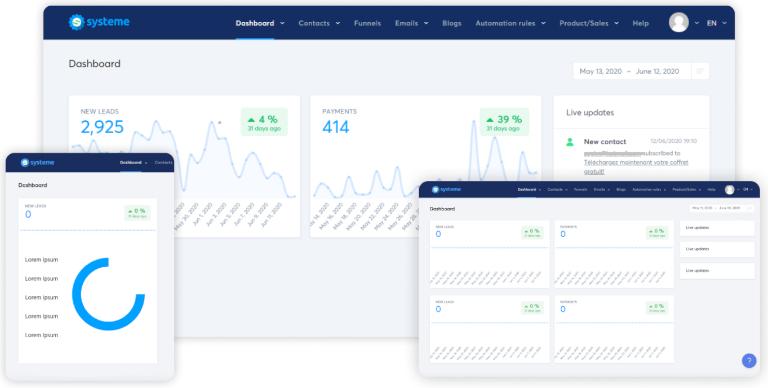 Systeme.io Marketing Tool