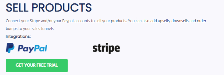Integrate with Paypal and Stripe