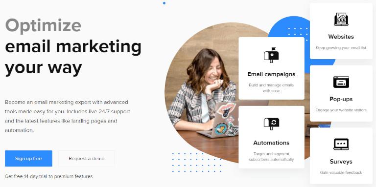 email marketing platforms mailerlite