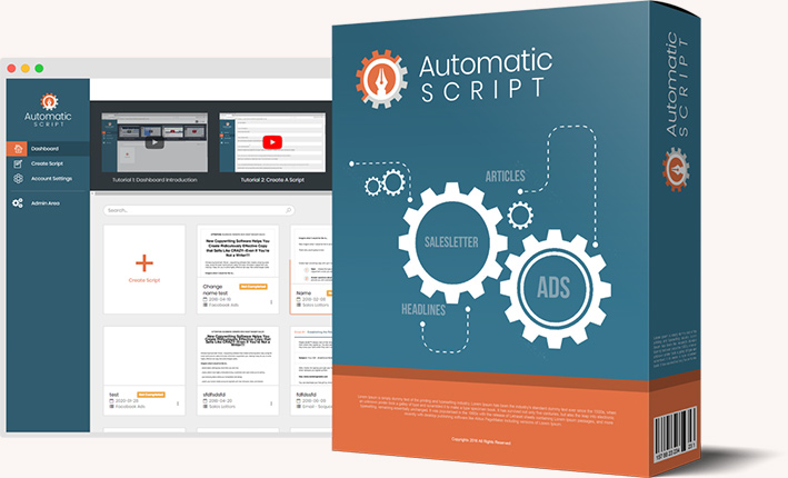 Automatic Sales Letter Creator