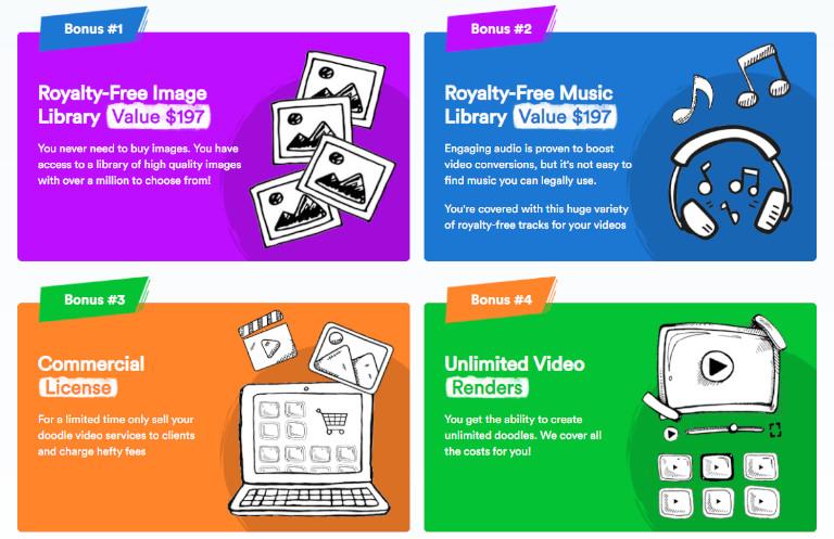doodle creator free bonuses