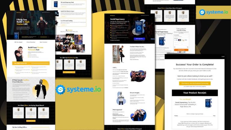 systeme.io best leadpages alternative