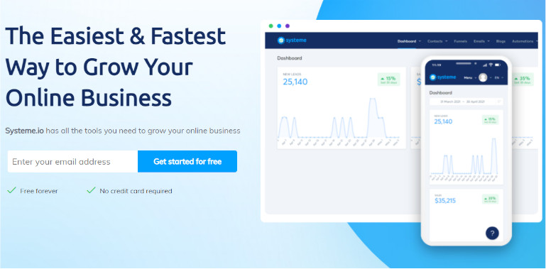 Free Landing Page Maker Software